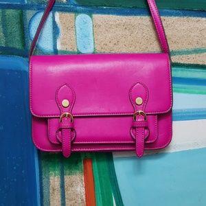 Hot Pink Mini Messenger Steve Madden Bag